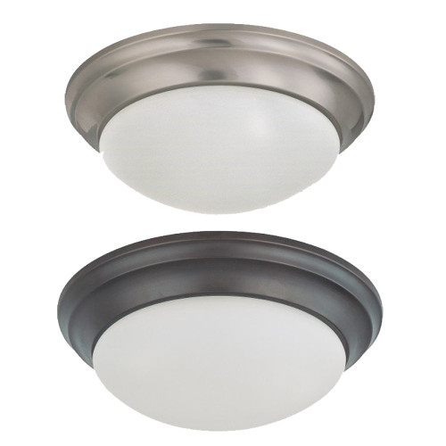 LED Flush Mount Ceiling Fixtures - Choose 11 Inch -18 Watt or 14-inch - 24 Watt