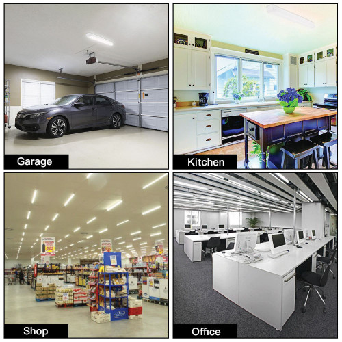 LED Designer Strip Fixture - Choose Your Size and Wattage