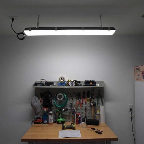 Emergency LED Weatherproof Light 4 Foot - 30 Watt 3,800 Lumens - 5000K Daylight.