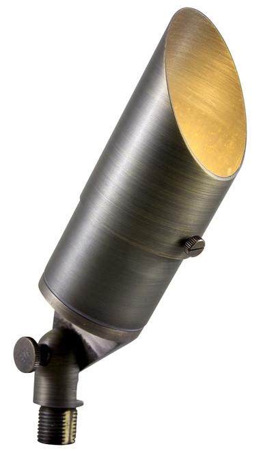 Solid Brass Directional Flood Light - Antique Bronze - Uses 12V MR16 151
