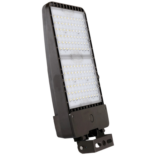 300 Watt Commercial Grae LED Parking Lot Light 5000K Color Temperature with Trunnion