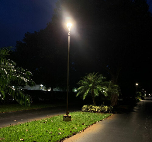 LED Pole Light Post Top Commercial Fixtures - ALED 5T Replica