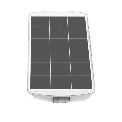 Commercial LED Solar Street Light - 54 Watt Wall Mount 5000K Daylight