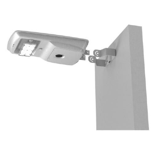 Commercial LED Solar Street Light - 17 Watt Wall Mount 5000K Daylight