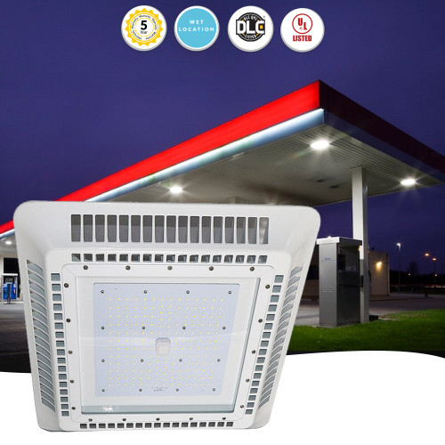 Outdoor Recessed Led Canopy Lighting