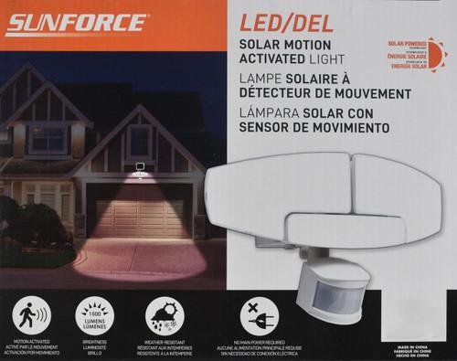 Solar LED Security Motion Light - 1500 LUMENS