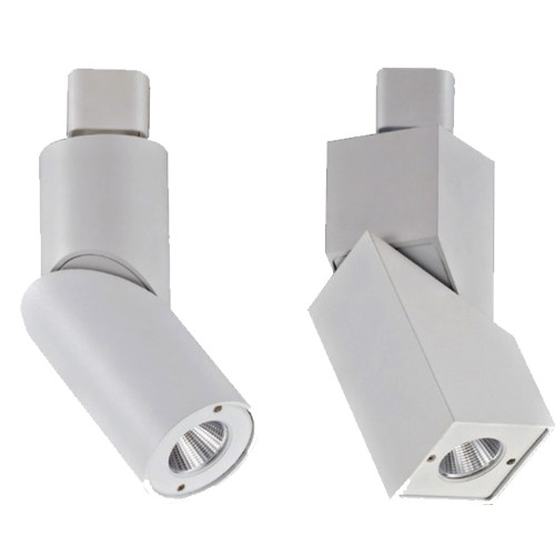LED Track Lighting Heads - Choose your shape and color temperature