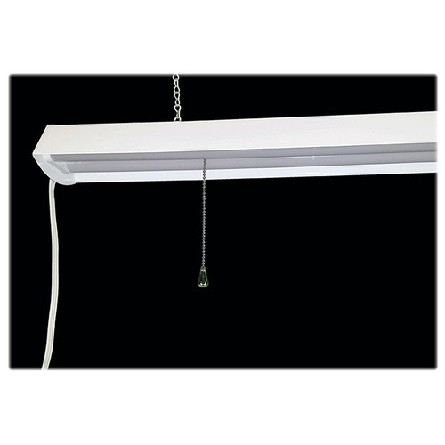 LED Shop Light Fixture - 4 Foot -  Really Bright 48 Watt - Choose Chain Mount or Ceiling Mount