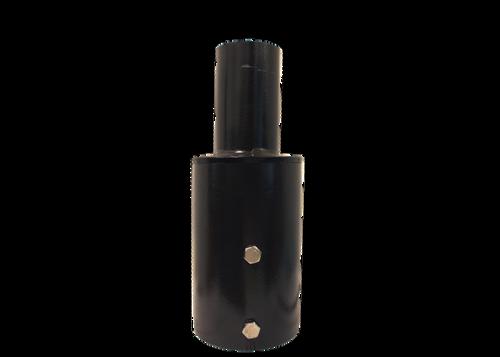 Tenon Adaptor 4 Inch Round Pole, Bronze