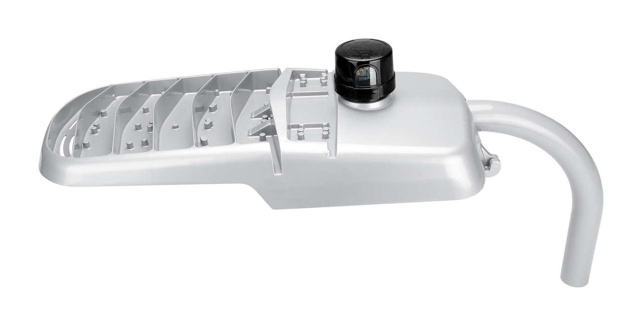 LED Cobrahead Street Light with Photocell  -  100W and 13,800 Lumens