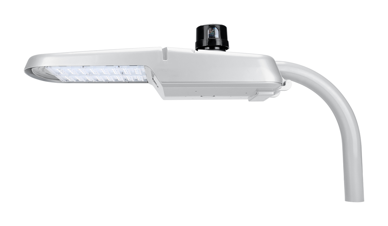 LED Cobra Street Light with Dusk to Dawn Photocell  -  150W and 18,000 Lumens