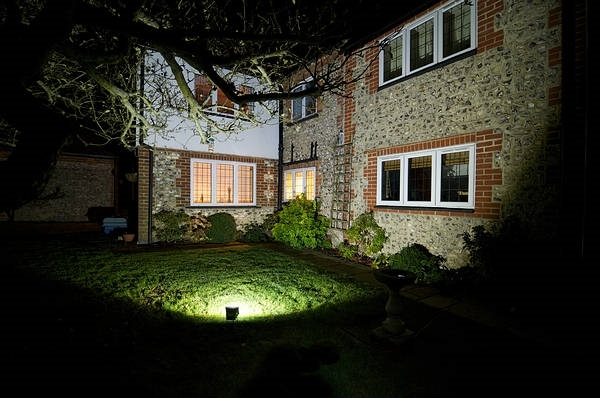 LED Exterior Flood Light Fixture - Can be used for all LED Outdoor Flood Lighting Requirements, 220 Watt - 20,000 Lumens,  With Adjustable Slipfitter Mount for 2-2.5 Inch Pole Mount -3000K
