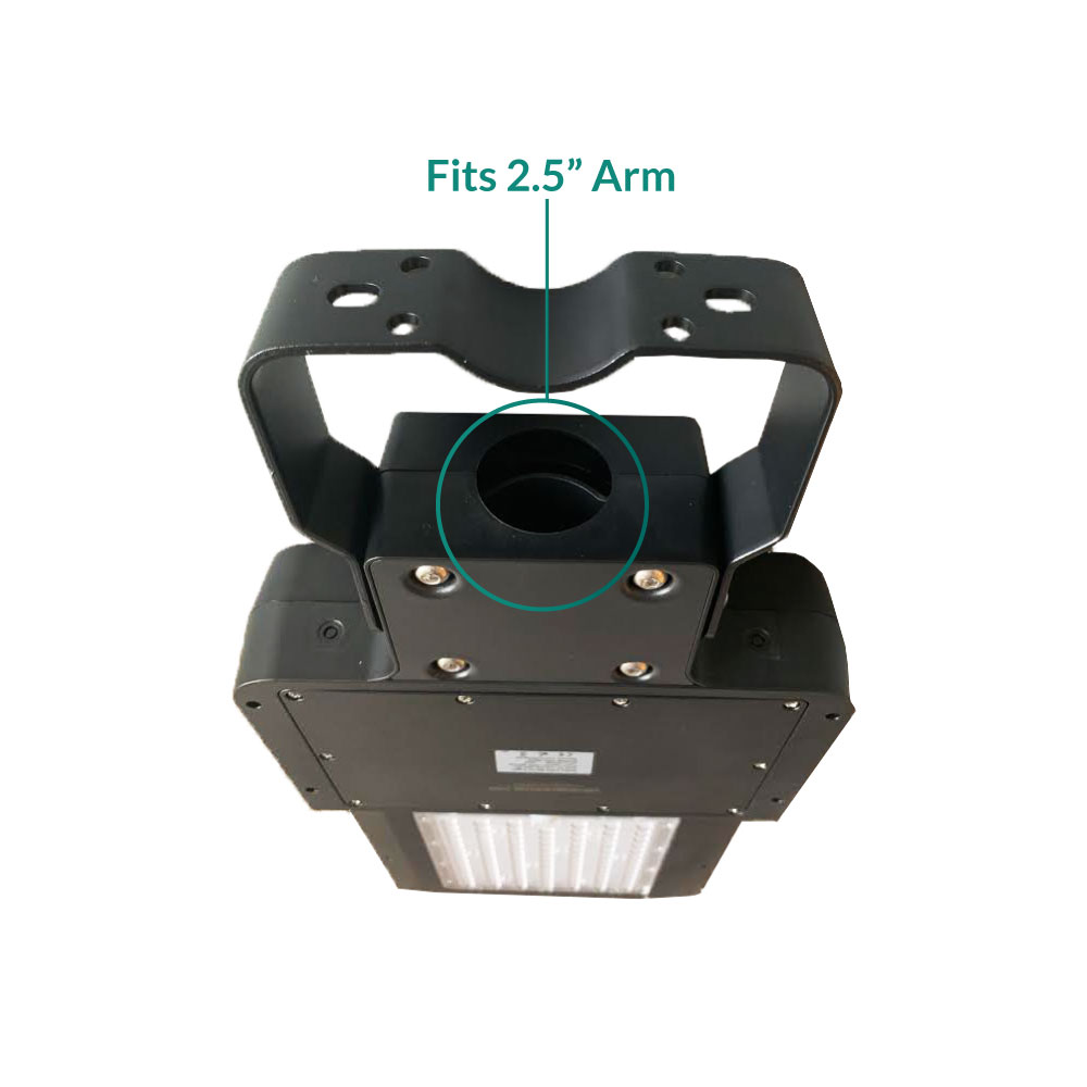 Solar LED Dusk to Dawn Security Light - 40 Watt 4800 Lumens - Programmable with Remote