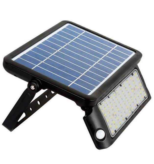 Solar LED Adjustable Wall Pack Flood Light - 10 Watt Solar
