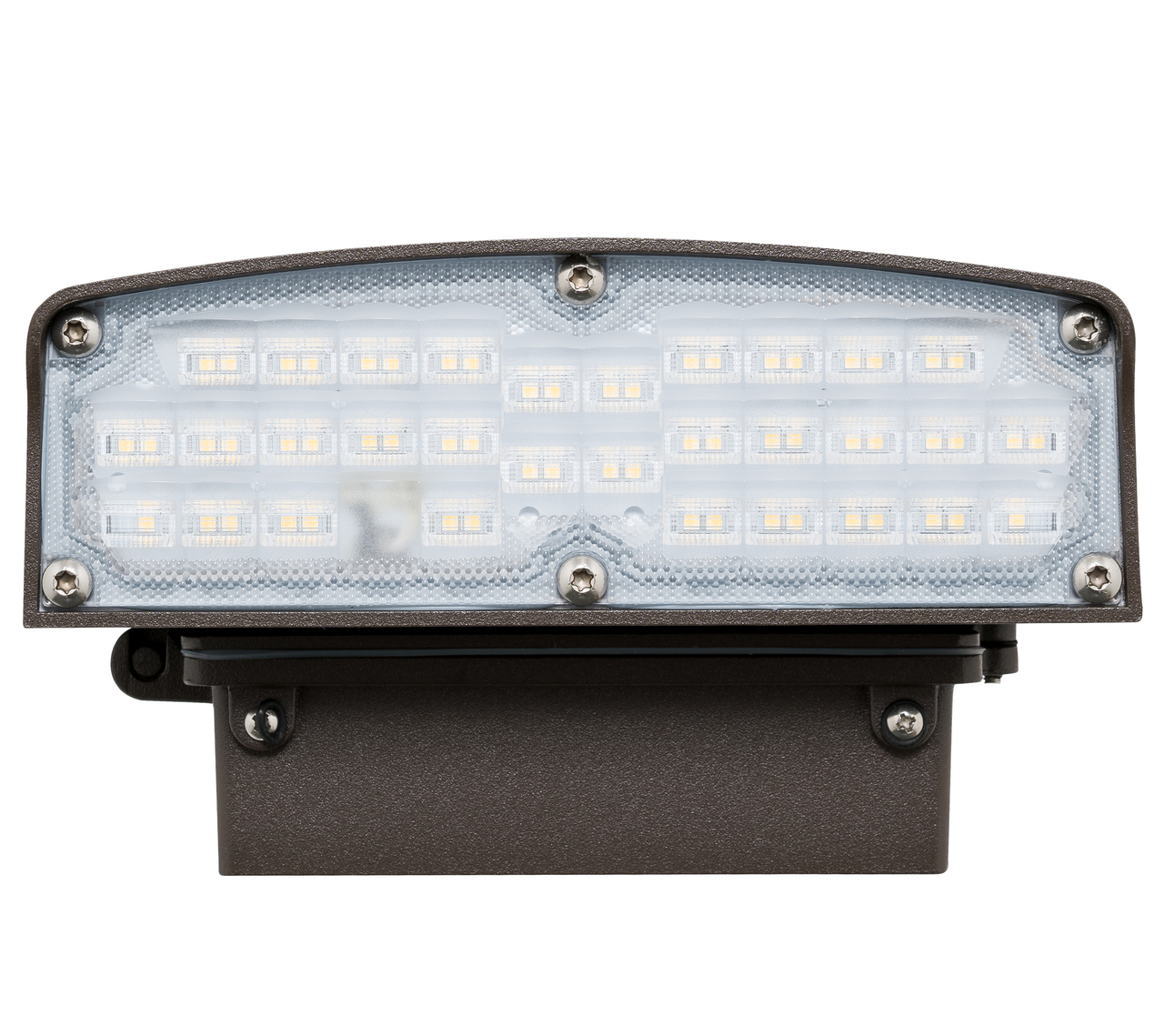 Downlight Full Cutoff LED Wall Pack - Choose Your Wattage (NOT ADJUSTABLE)