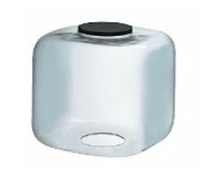 15 Inch Square Cube Diffuser Clear