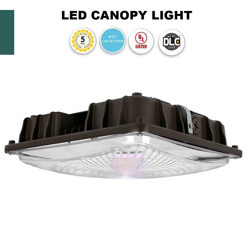 LED Parking Garage Light, Perfect for Canopies, Carports and Storage Areas, 40 Watt - 5400 Lumens