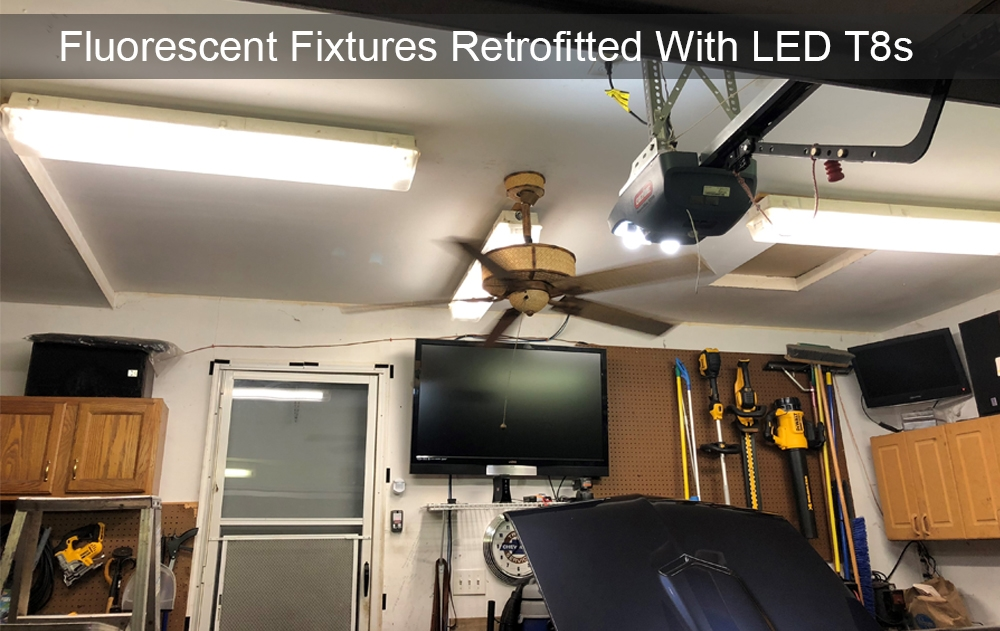 LED T8 4-Foot Tube Light Replacements - Choose Your Watt and Color Temperature