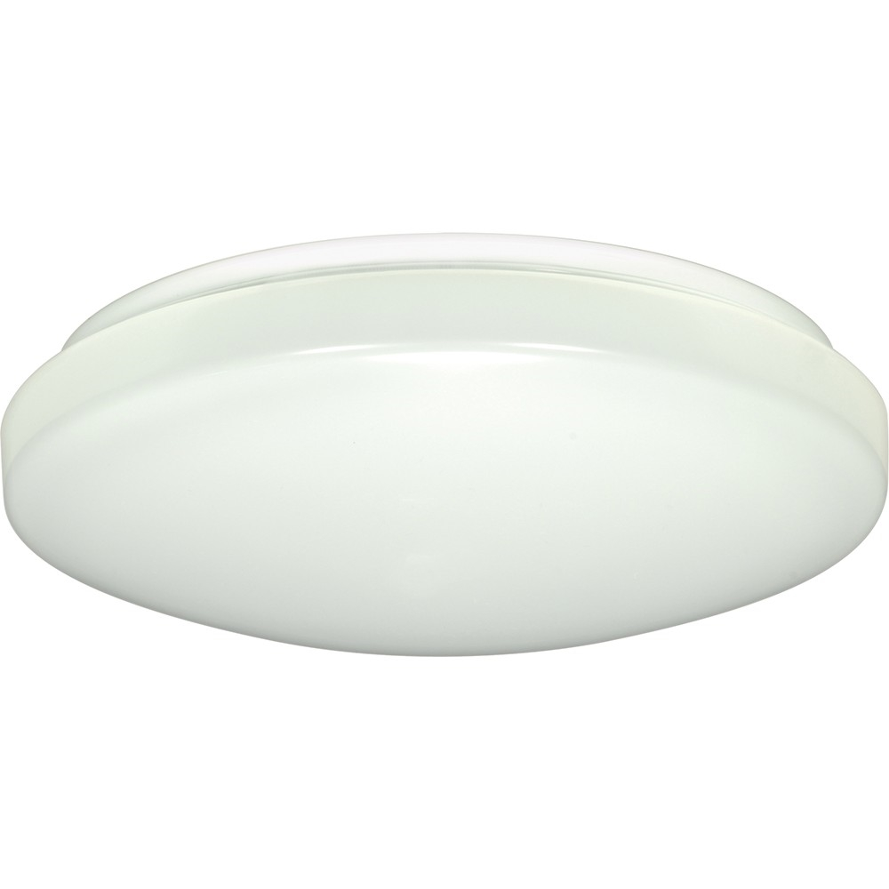 LED Flush Mount Ceiling Fixture with optional occupancy sensor - Choose Your Size