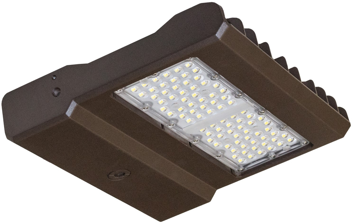 LED Parking Lot Flood Light - Can be used for all LED Outdoor Flood Lighting Requirements, 150 Watt - 15,000 Lumens, With Side Extension Arm for 4 Inch Pole