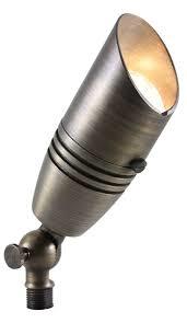 Solid Brass Directional Flood Light - Antique Bronze - Uses 12V MR16 931