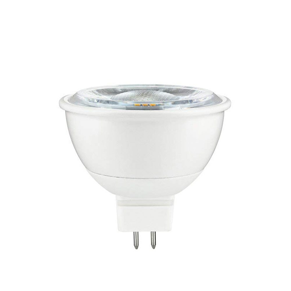 LED MR16 Dimmable Light Bulb, 3000K Soft White - 7 Watt  (50W Replacement) Flood - 12 Volt (500 Lumens)
