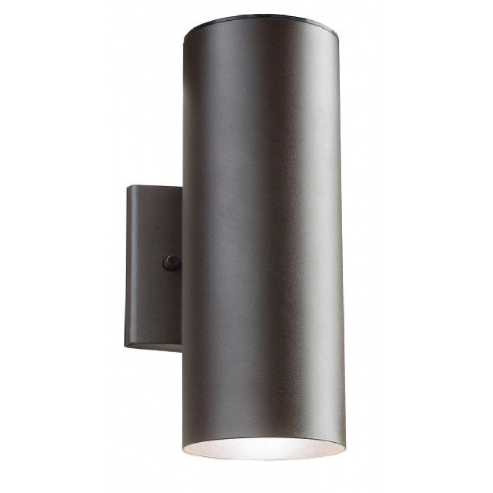 LED Outdoor Cylinder Wall Light Great For porch, deck, patio, balcony, or side entrance