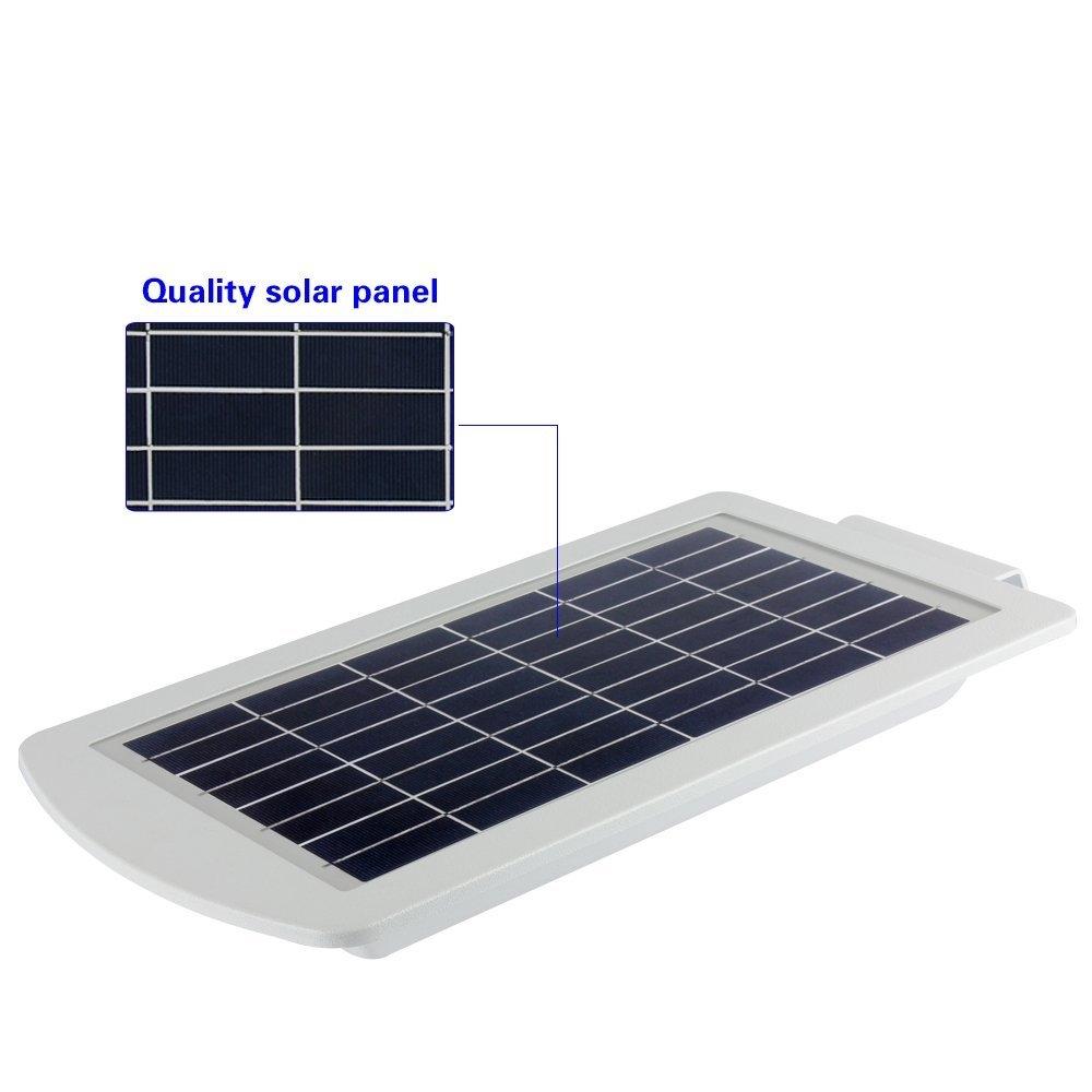 LED Solar Lights - 15 Watt 1500 Lumens