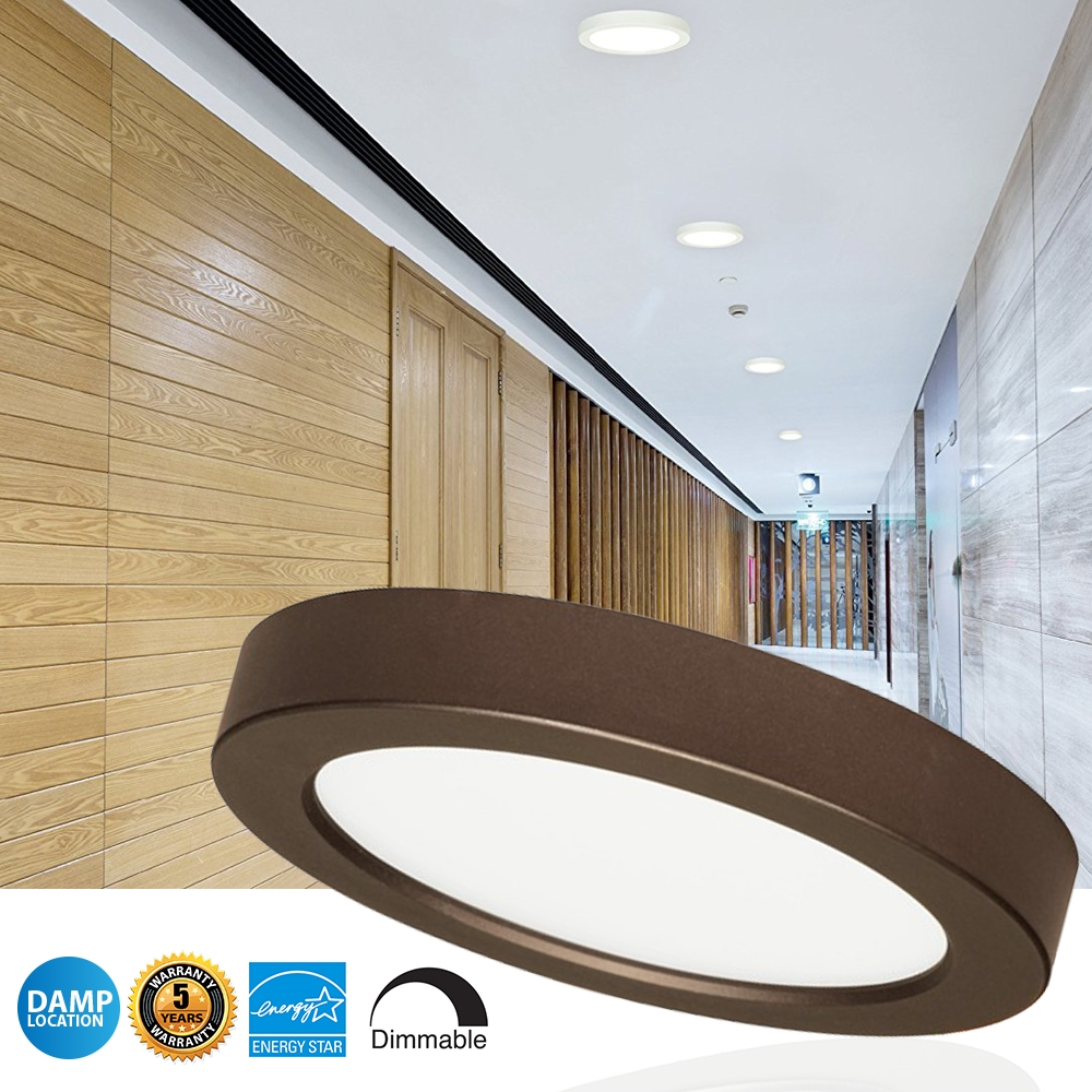 LED Blink Light Fixtures - Perfect  For Hallways, Kitchens, Bathrooms, Offices and Family Rooms
