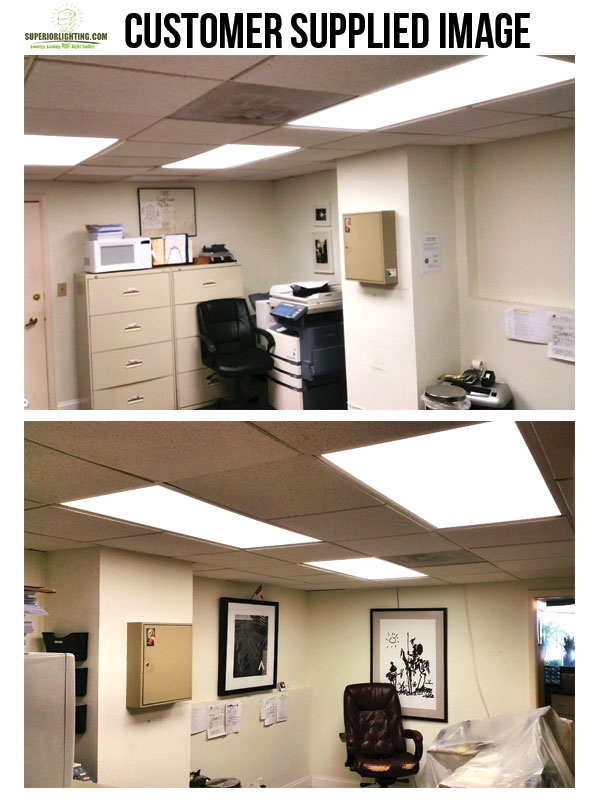 """LED Drop Ceiling Flat Panel Light Fixtures - Choose Your Size, Color and Optional Mounting Kit For Pricing - <br /><span style=""""font-size: 14pt; color: red;"""">Call For Pallet Pricing On 66 Or More Units"""