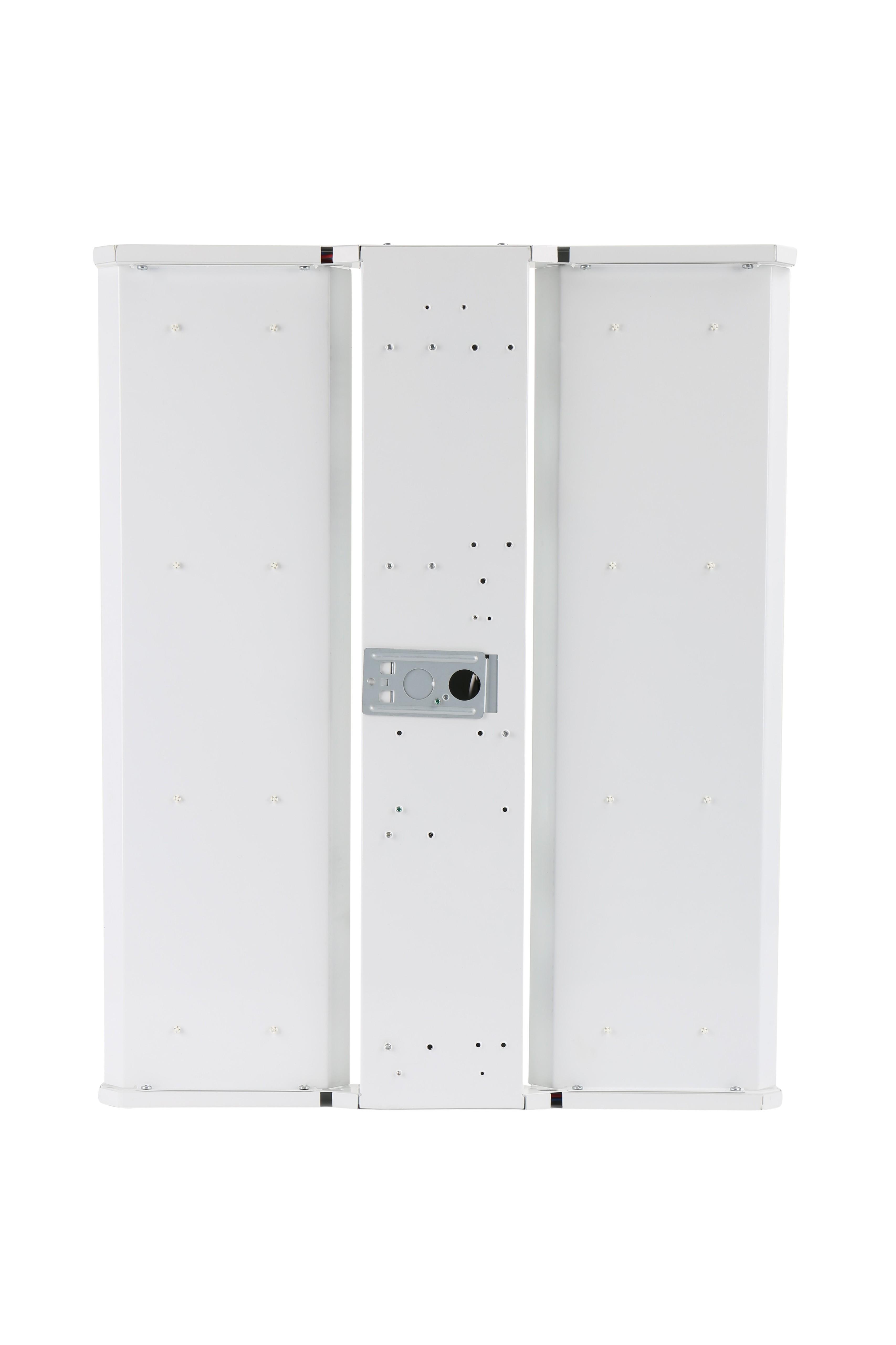 LED Warehouse High Bay With Emergency Battery (90 minute - 900 Lumen), 2' x 2' - 135 Watt, 18,000 Lumens, equivalent to 250W Metal Halide