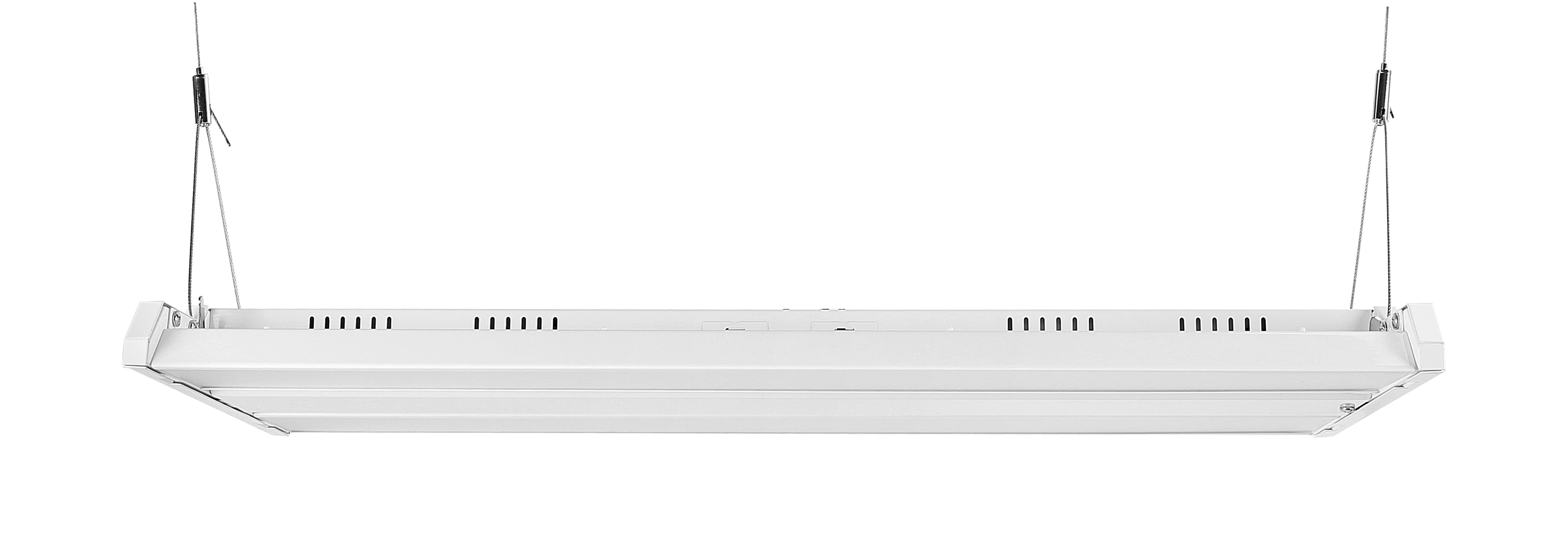 High Bay Led Lighting For Large Warehouses - With Emergency Battery (90 minute - 900 Lumen) 2' x 4' - 300 Watt, 40,000 Lumens, equivalent to 1000W Metal Halide