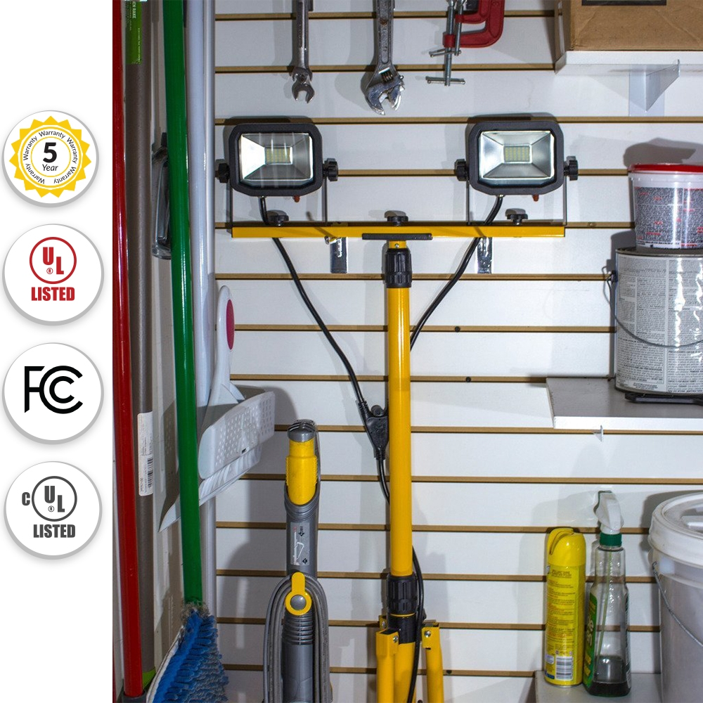 Slimline Portable LED Outdoor Worklight