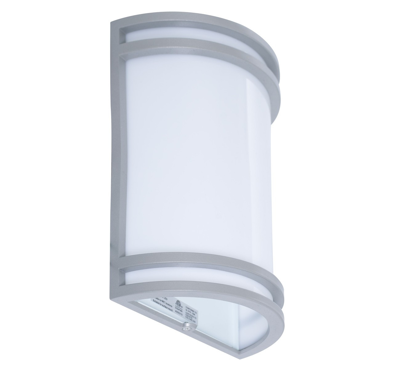 Led Decorative Wall Sconce 12 Watt 1 200 Lumens 4000k Cool White