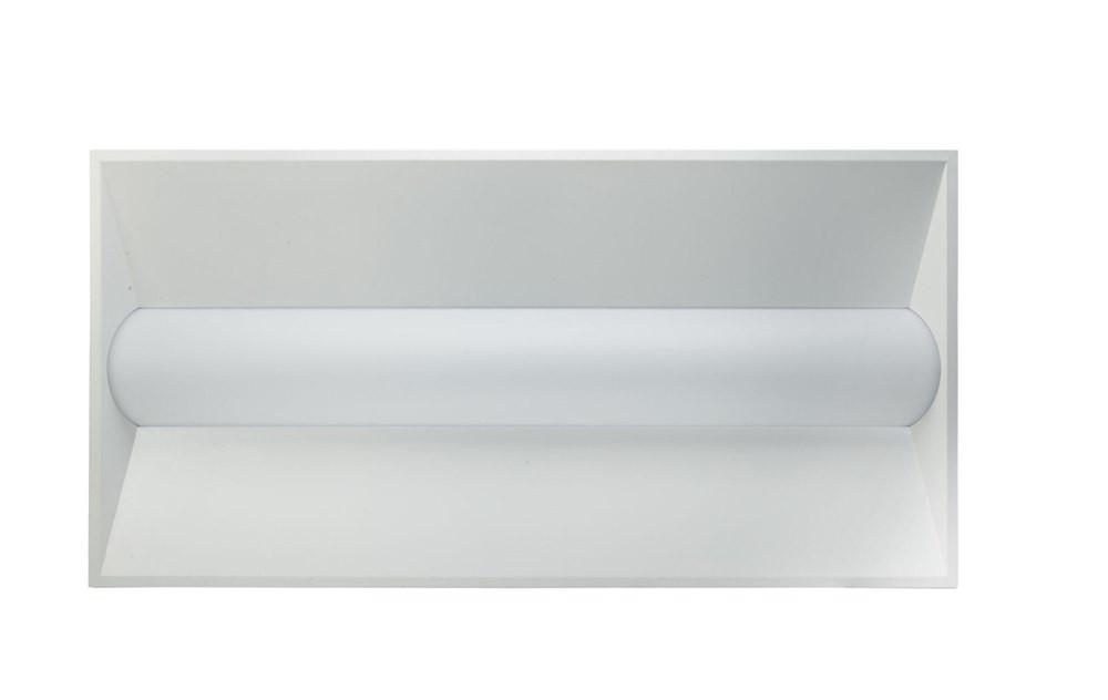 LED 2x4 Basket Troffer 50 Watt, 5590 Lumens, 4000K Cool White Color  Temperature