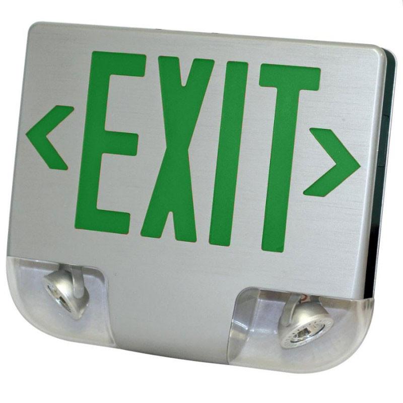 Exit Sign Osha Metal Aluminum Sign