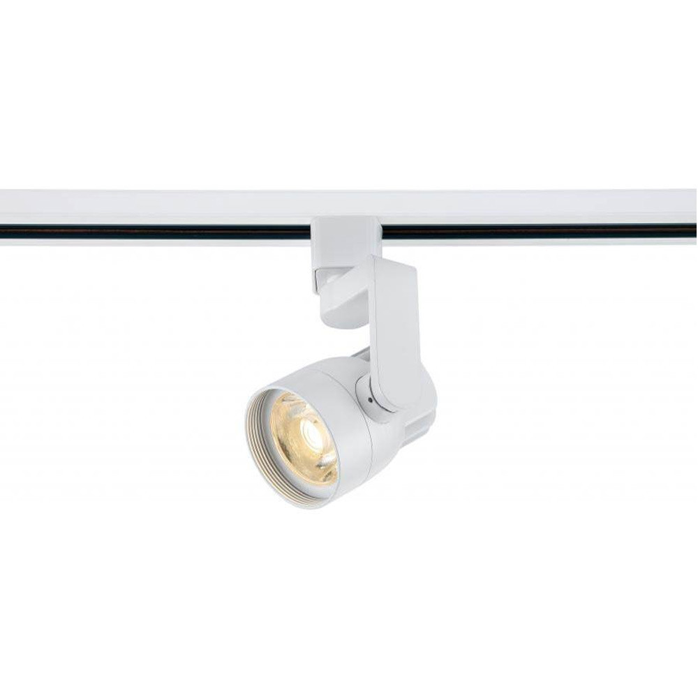 low priced f76fe 71e7f Art Gallery LED Track Lighting Fixture with Angle Arm - White Finish, 24o  Beam, 820 Lumens, 3000K Soft White Color Temperature,