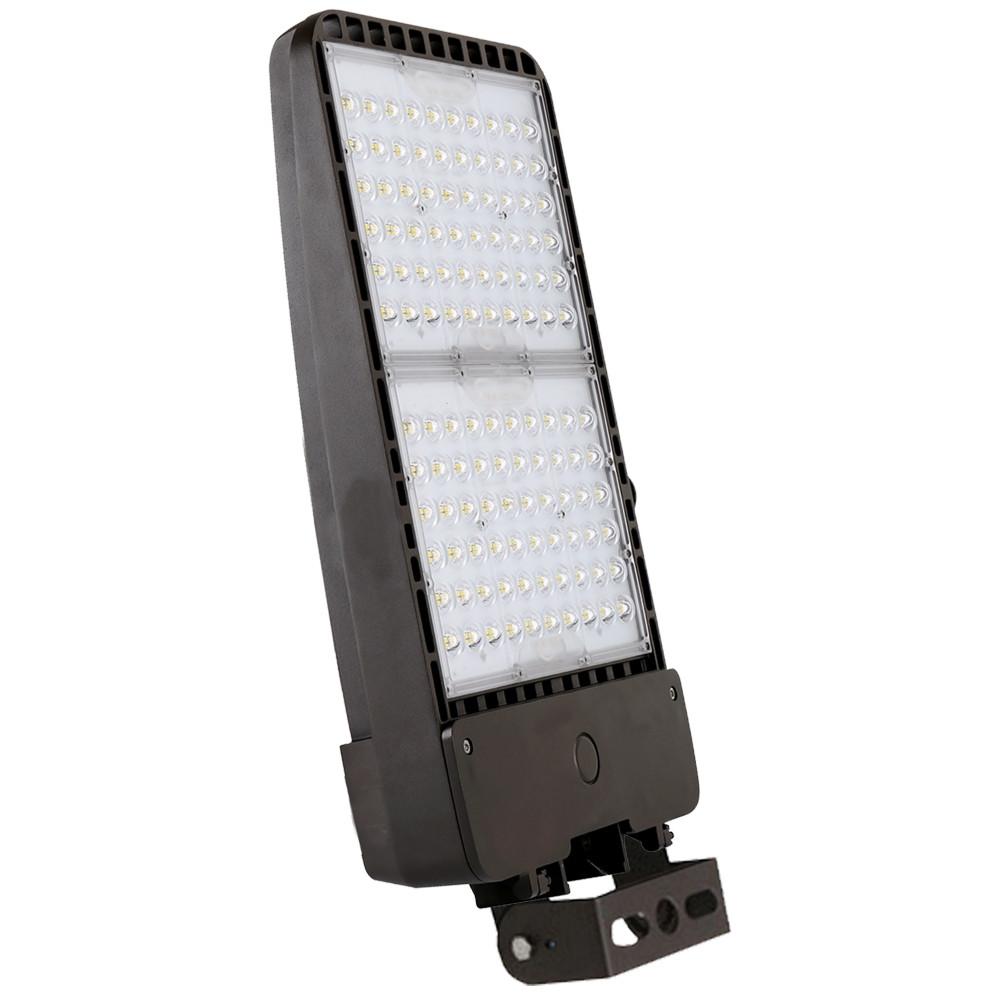 250 watt led parking lot light 5000k color temperature with trunnion