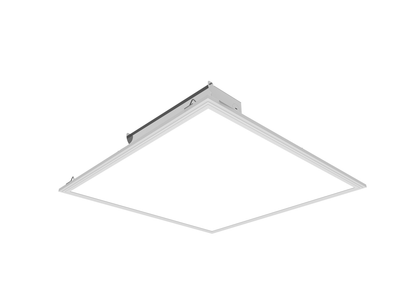 Led Flat Panel 2x2 5000k Daylight Dimmable With Extra Suspension Hanging Kit