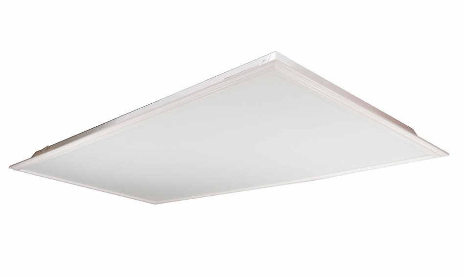 LED Flat Panel 2X4 - 40 Watt - 3500K - Dimmable - With Extra Surface Mount  Kit