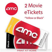 graphic relating to Amc Printable Tickets named AMC Video clip Tickets - Absolutely free with your buy in excess of $1000