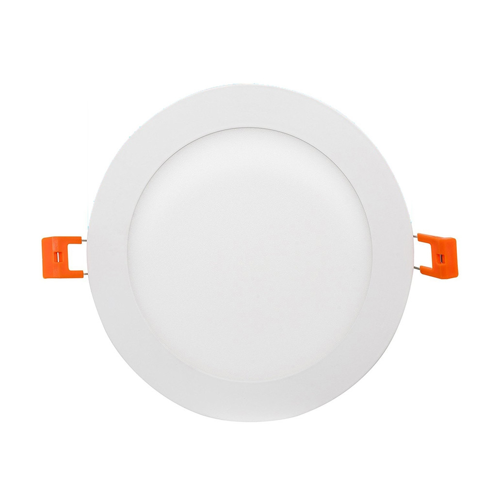8 inch low profile led recessed lighting no recessed can required 18 watt 1260 lumens 4000k cool white