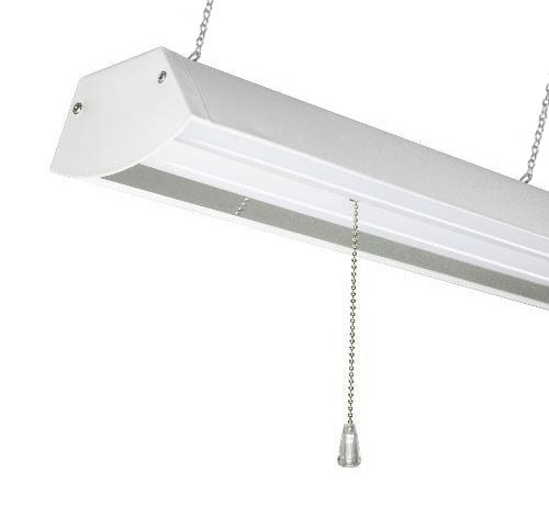 Led Shop Light Fixture 4 Foot Really Bright 48 Watt Choose Chain Mount Or Ceiling Mount