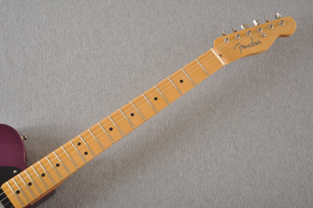 Fender Nocaster Custom Shop 51 NOS Trans Purple 7 lbs 9.5 oz - View 6