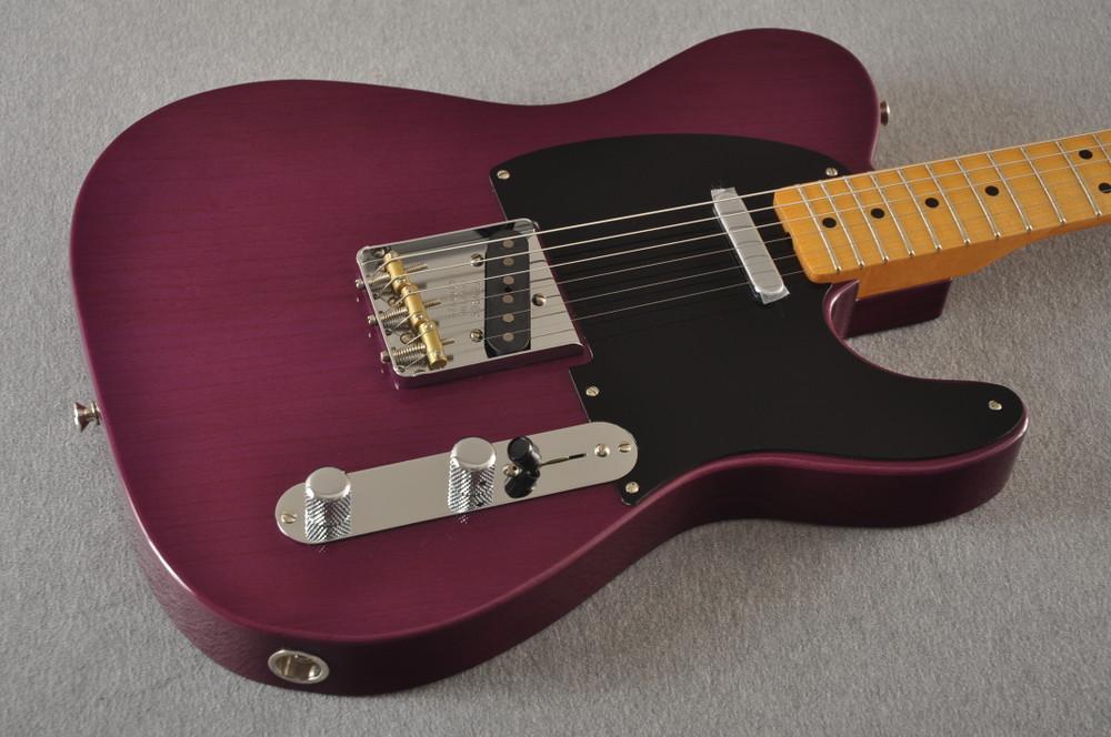 Fender Nocaster Custom Shop 51 NOS Trans Purple 7 lbs 9.5 oz