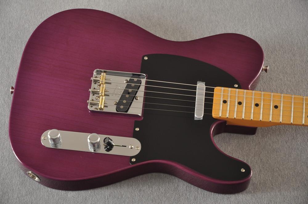 Fender Nocaster Custom Shop 51 NOS Trans Purple 7 lbs 9.5 oz - View 9