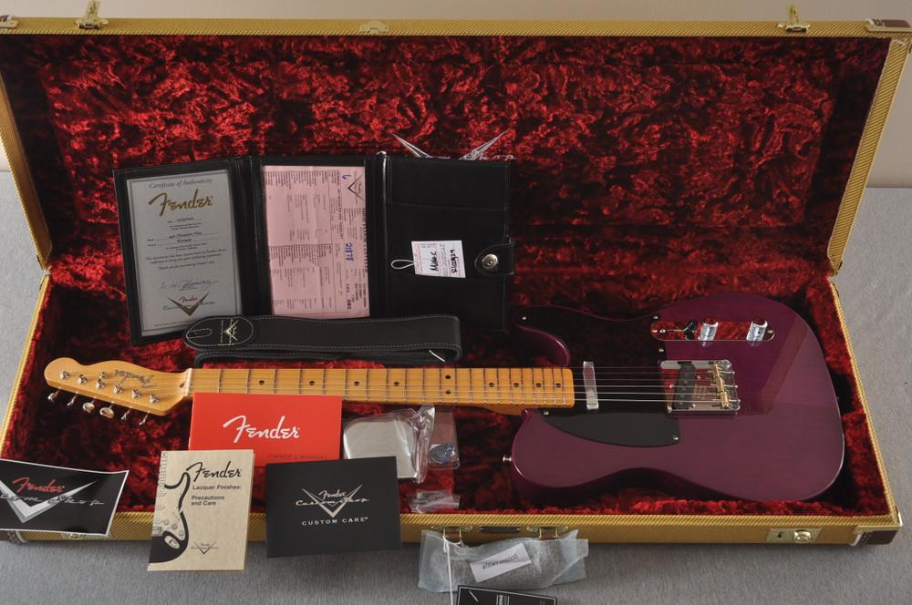 Fender Nocaster Custom Shop 51 NOS Trans Purple 7 lbs 9.5 oz - View 2