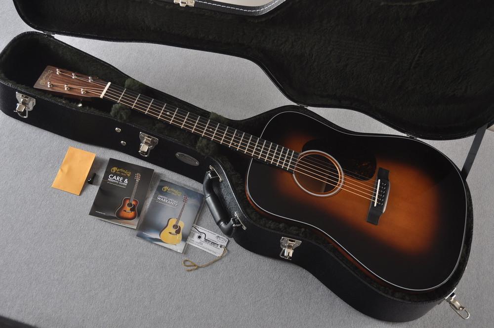 Martin D-18 Standard 1935 Sunburst Acoustic Guitar #2224781 - Case