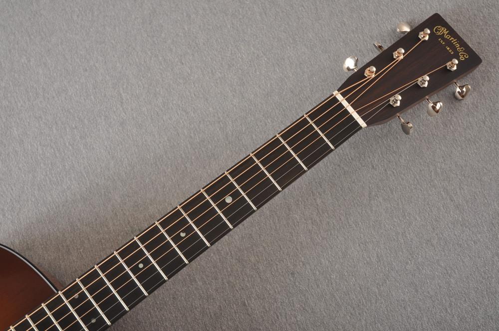 Martin Custom 12 Fret 000 Style 18 Adirondack Sunburst #2276260 - Neck