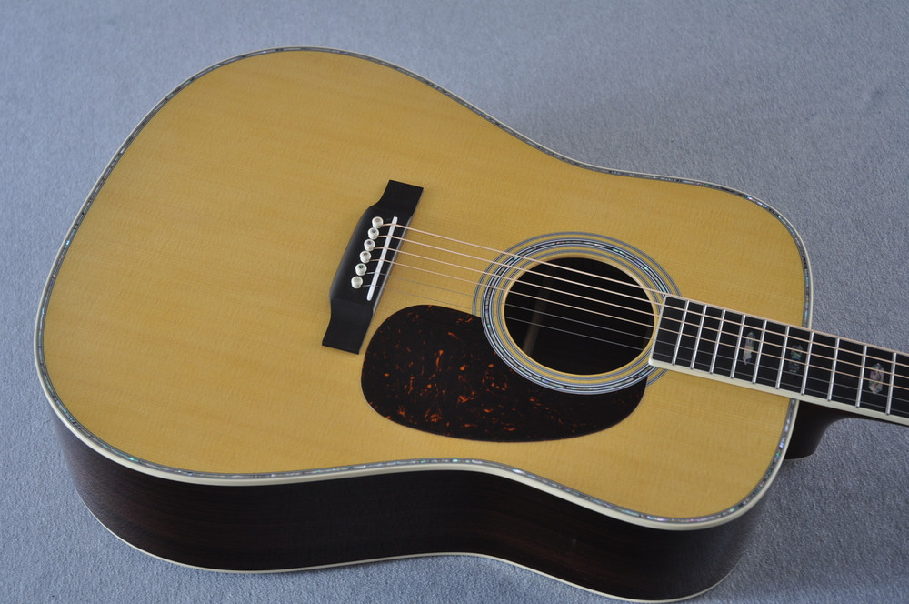 Martin D-41 (2018) Standard Acoustic Guitar #2230729 - Top Angle